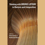 book cover for Thinking With Bruno Latour